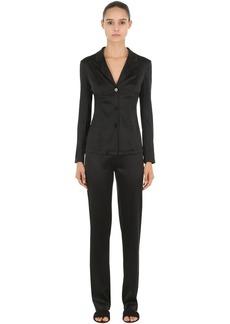 La Perla Silk Satin Pajama Shirt & Pants