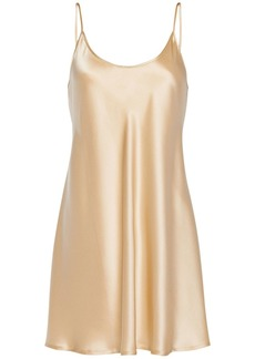La Perla Silk Satin Slip Dress
