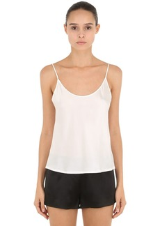 La Perla Silk Satin Top
