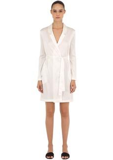La Perla Stretch Silk Satin Short Robe