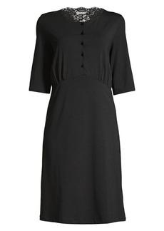 La Perla Tess Lace-Trim Nightgown
