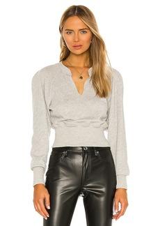L'Academie 80s Sleeve Sweatshirt