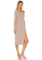 L'Academie Aleah One Shoulder Sweater Dress
