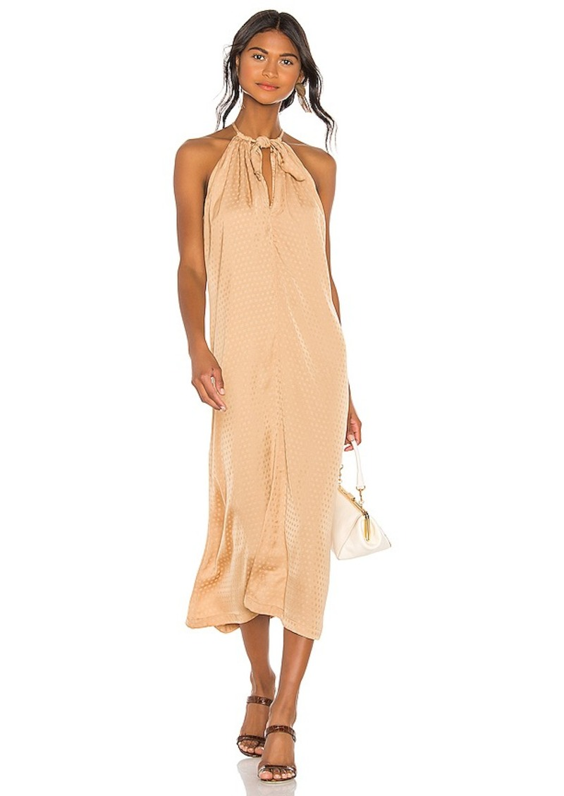 L'Academie The Annick Midi Dress