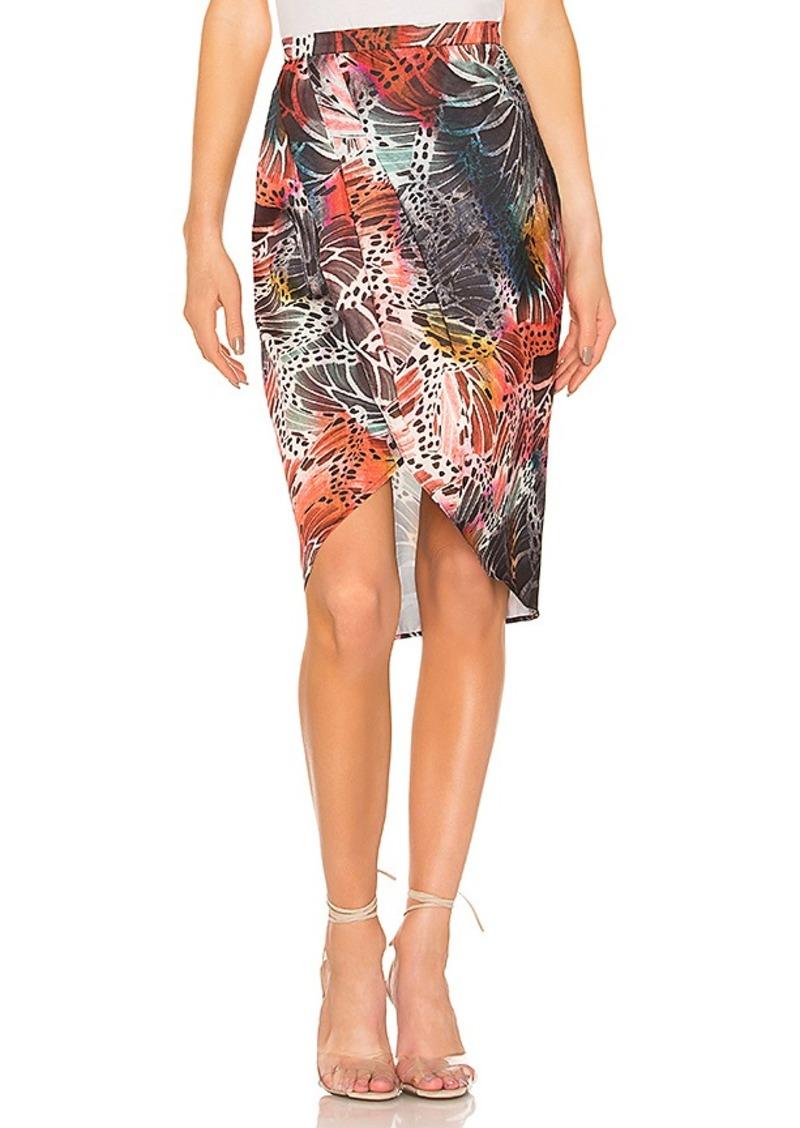 L'Academie The Arlene Midi Skirt