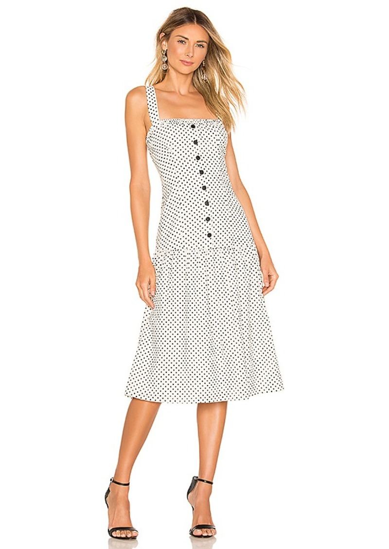 L'Academie The Frankie Midi Dress