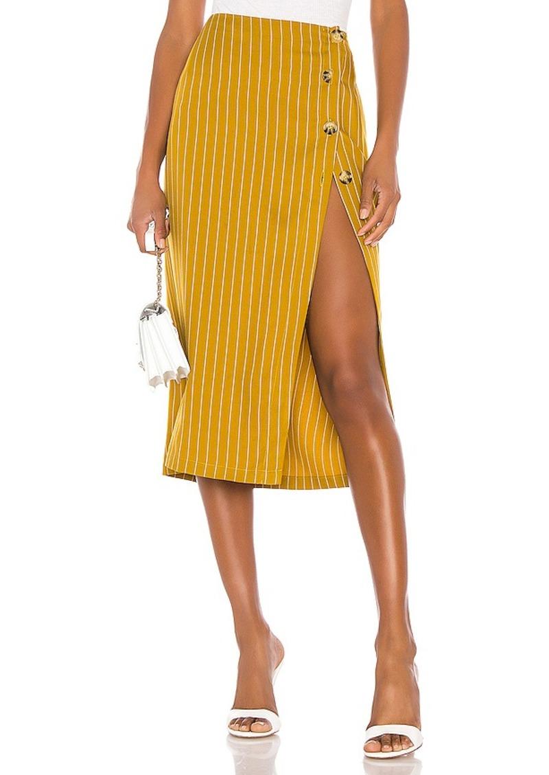 L'Academie The Lisa Midi Skirt