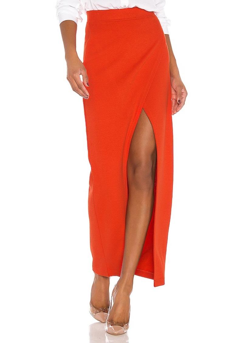 L'Academie The Lyra Midi Skirt