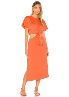 L'Academie The Mai Midi Dress