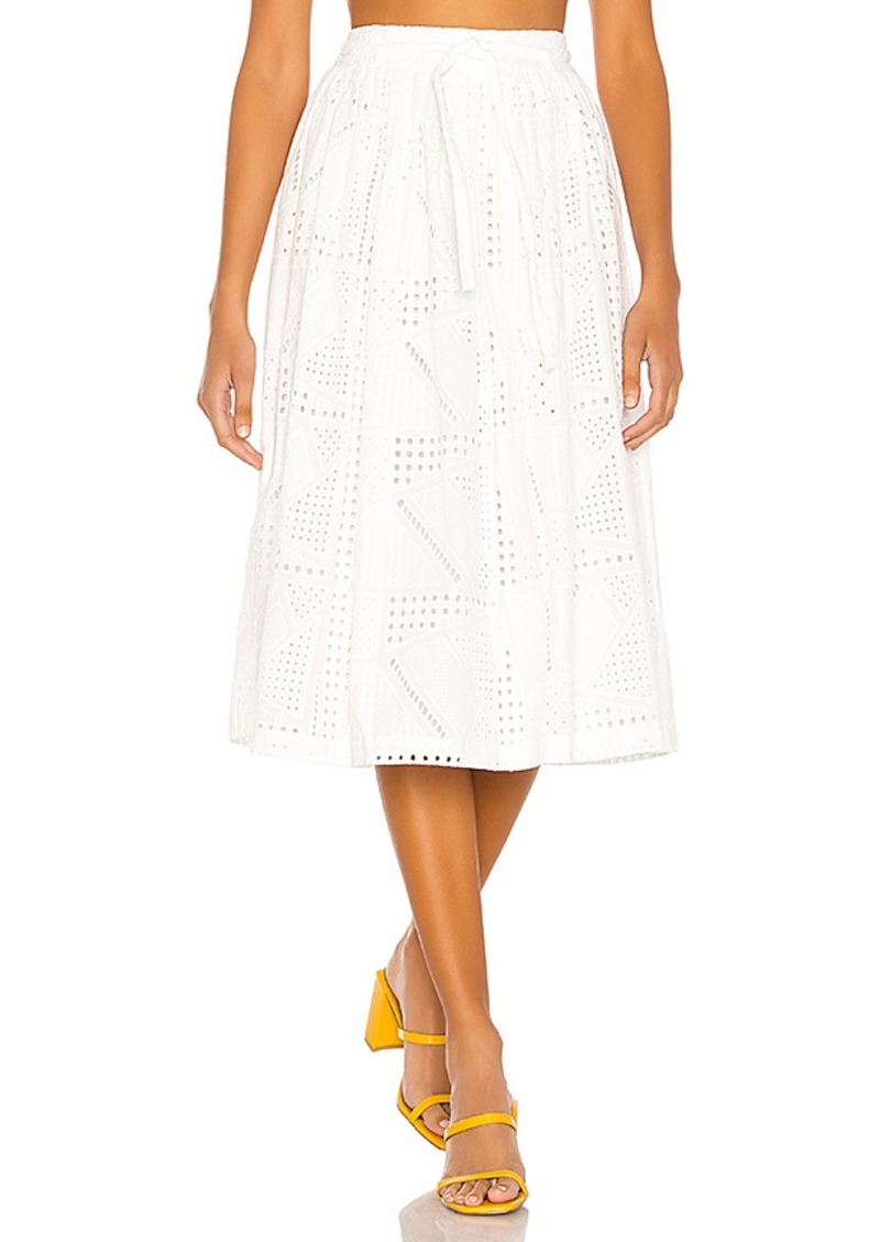 L'Academie The Rosine Midi Skirt