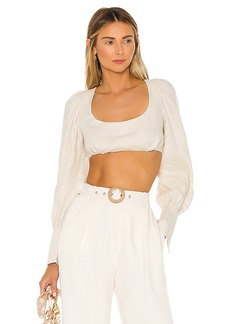 L'Academie The Therese Crop Top