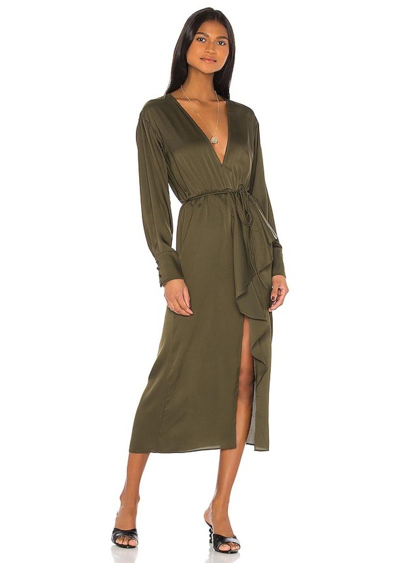 L'Academie The Tracee Midi Dress