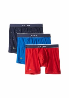 Lacoste 3-Pack Micro Font Boxer Brief