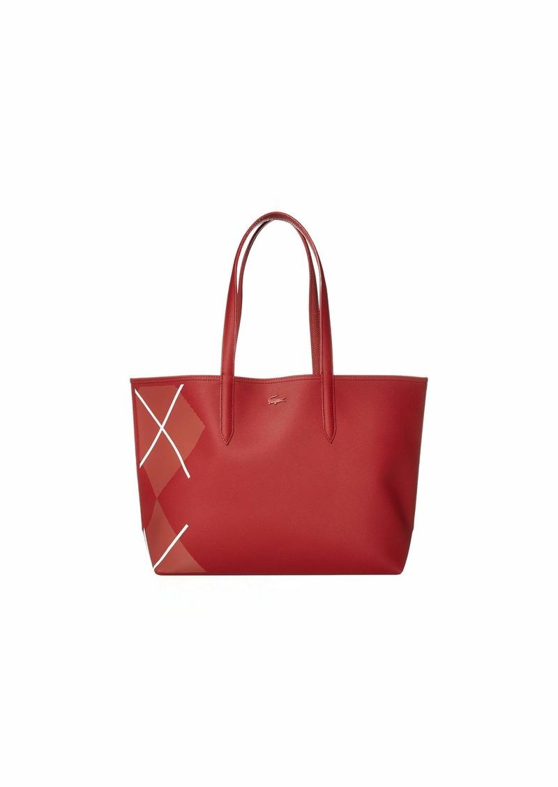 LACOSTE Anna Shopping Bag Green Gables Peacoat