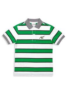 Lacoste Baby's, Little Boy's & Boy's Stripe Cotton Piqué Polo
