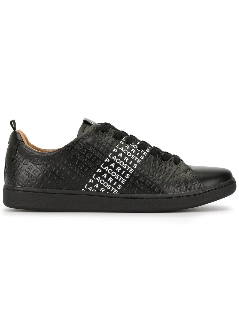 Lacoste Carnarby Evo logo embossed sneakers