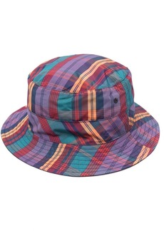 Lacoste check bucket hat