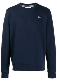 Lacoste chest logo sweatshirt