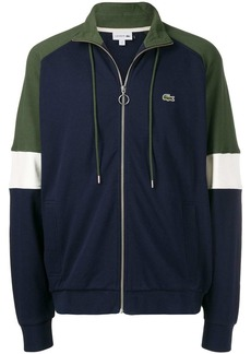Lacoste colour block track jacket