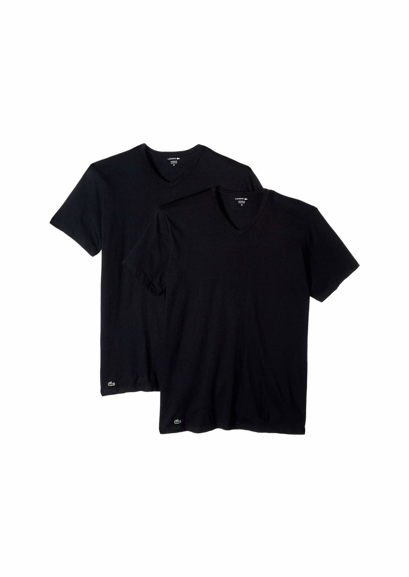 Lacoste Colours 2-Pack Classic Fit V-Neck Tee