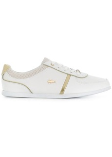 Lacoste contrast piped sneakers