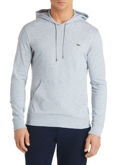 Lacoste Cotton Pullover Hoodie