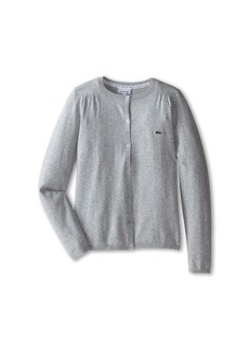 Lacoste Cotton Wool Cardigan (Infant/Toddler/Little Kids/Big Kids)
