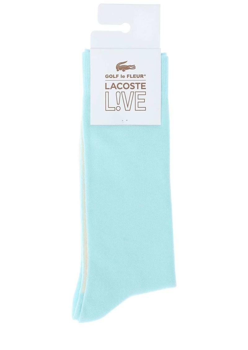Lacoste Golf Le Fleur Stretch Cotton Blend Socks