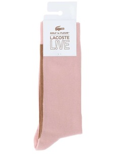 Lacoste Golf Le Fleur Stretch Cotton Blend Socks