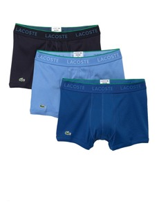 Lacoste Knit Trunks - Pack of 3