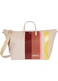 Lacoste L.12.12 Concept Striped Travel Shopping Bag