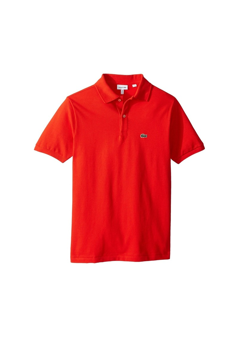 01292b441f Lacoste L1812 Short Sleeve Classic Pique Polo (Toddler/Little Kids ...