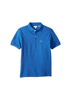 Lacoste L1812 Short Sleeve Classic Pique Polo (Toddler/Little Kids/Big Kids)