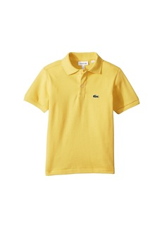 Lacoste L1812 Short Sleeve Classic Pique Polo (Toddler/Little Kids/Big Kids)