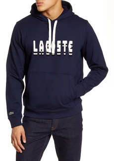 Lacoste 3D Logo Graphic Hooded Sweatshirt