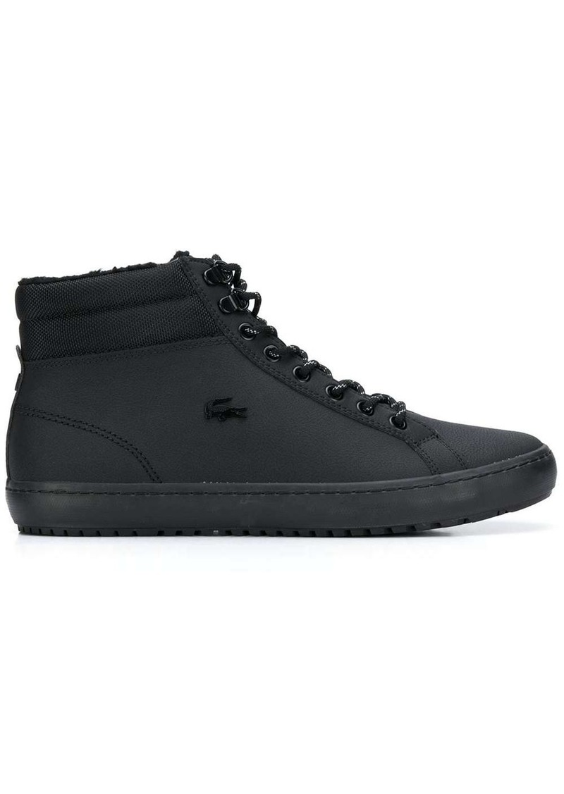 Lacoste shearling-lined ankle boots