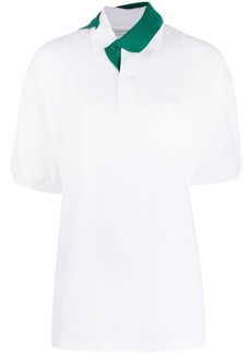 Lacoste twisted collar polo shirt
