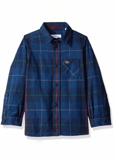 Lacoste Big Boy Flannel Checked Shirt Multi