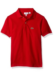 Lacoste Big Boy Short Sleeve Classic Pique Polo