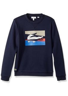 Lacoste Big Boys' Multico Animation Sweatshirt