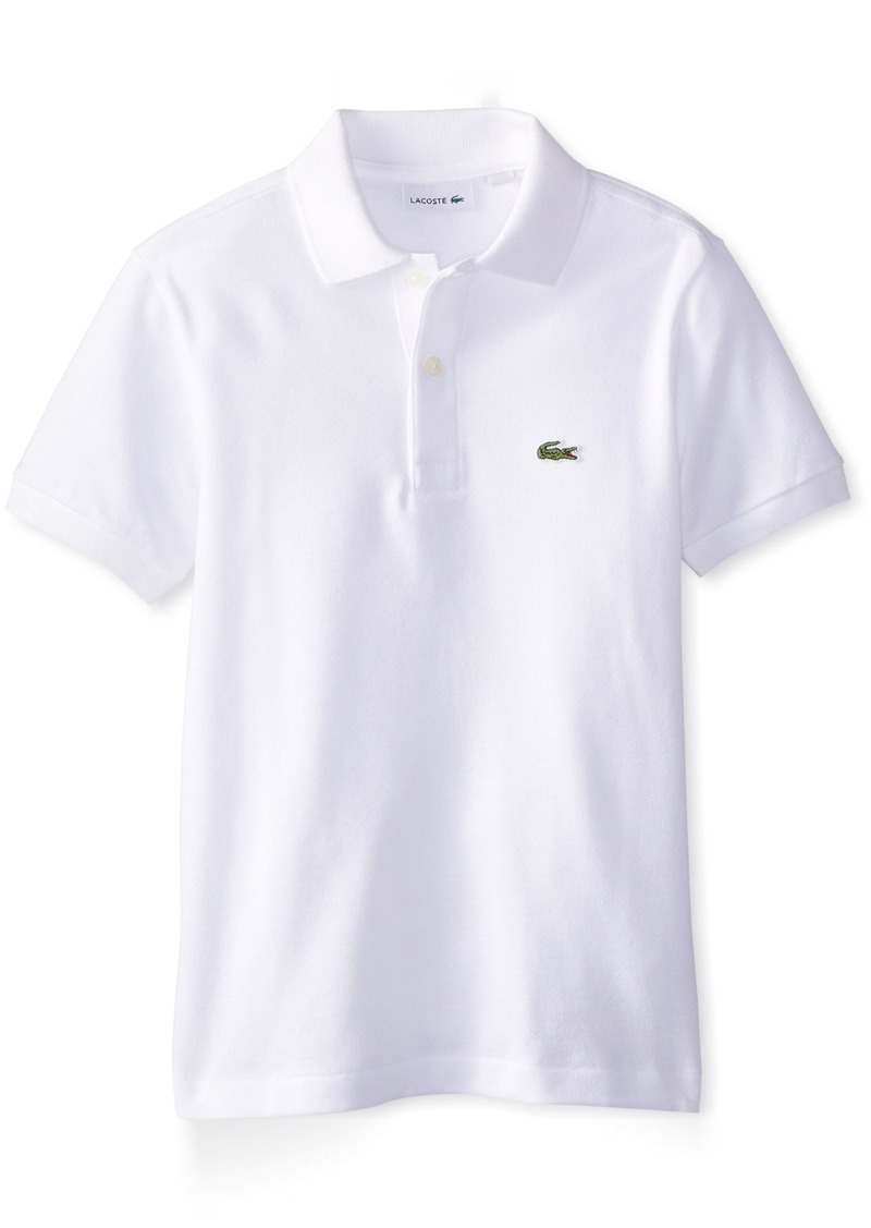 On Sale Today Lacoste Lacoste Big Boys Short Sleeve Classic Cotton