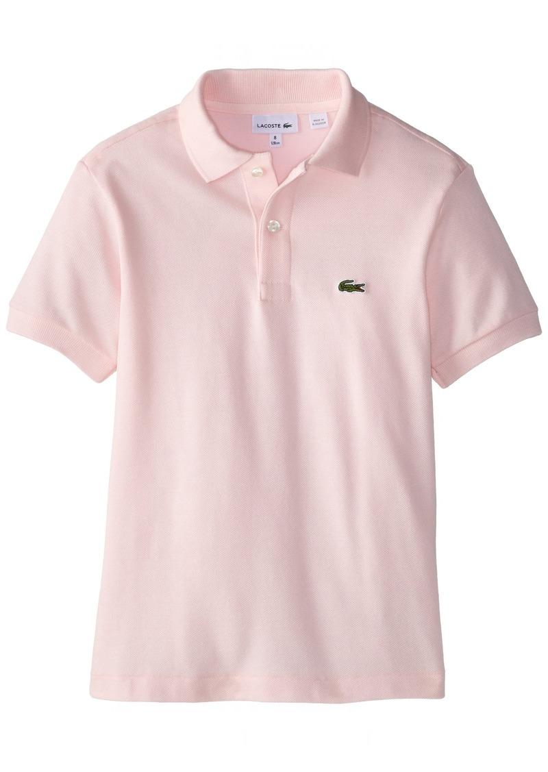Lacoste Big Boys'  Short Sleeve Classic Cotton Pique Polo Shirt