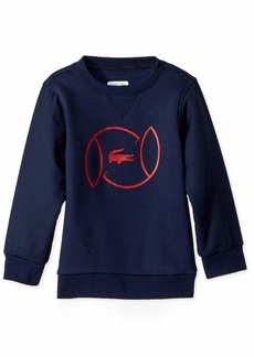 Lacoste Big Boys' Sport Croc Logo Sweatshirt