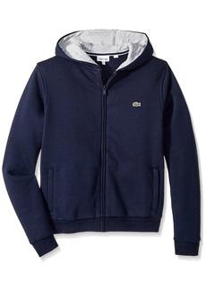 Lacoste Big Boys' Sport Hooded Fleece Sweatshirt