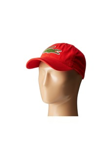 ecf24fb8 Lacoste Big Croc Gabardine Cap | Misc Accessories