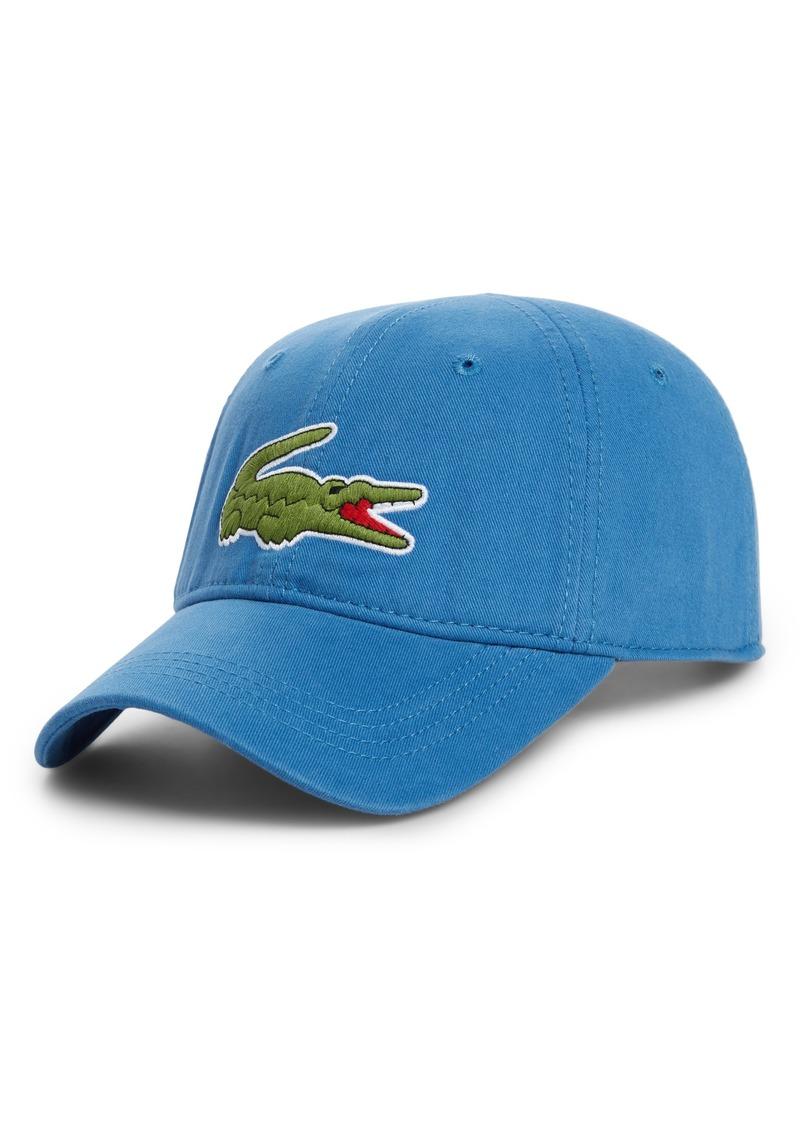 Lacoste Lacoste  Big Croc  Logo Embroidered Cap  24118ddc06cd