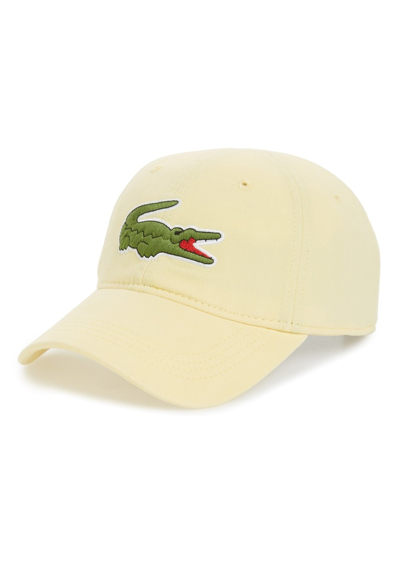f670f1e31a8 Lacoste Lacoste  Big Croc  Logo Embroidered Cap