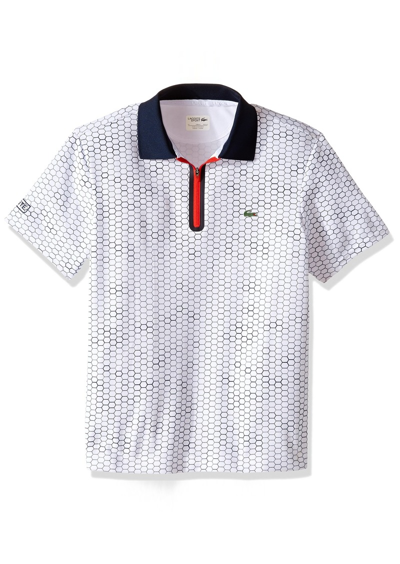 7e7beaa3829ba Boys  Big Boys  Sport Short Sleeve Ultra Dry Polo with Zipper Placket A.  Lacoste