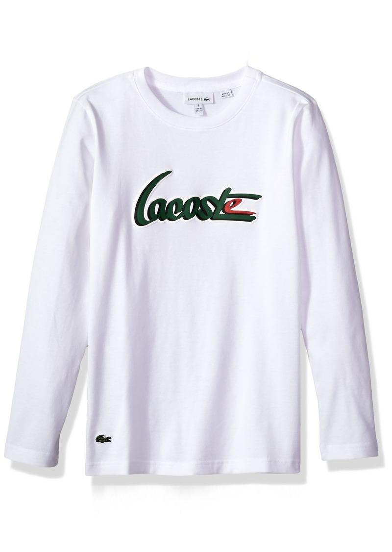 04e781e0 Boys' Long Sleeve Printed Graphic T-Shirt