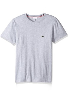 Lacoste Boys' Short Sleeve Solid Crew Tee Shirt